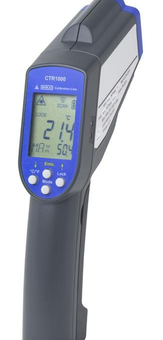 Thermomètre infrarouge portable